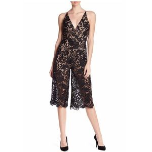 Dress the Population Lace Jumpsuit
